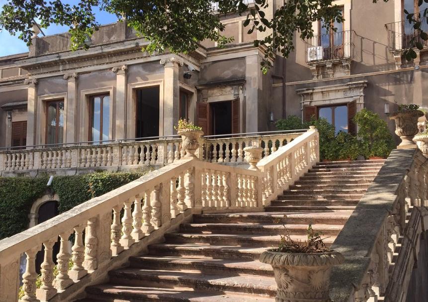 Villa Cerami (Scalone Monumentale) - Catania (IT)