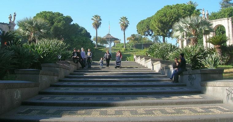 Villa Bellini (Ingresso Via Etnea) - Catania (IT) [Fonte Foto: wikipedia.it]