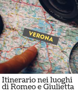 Itinerario di Verona - Romeo e Giulietta