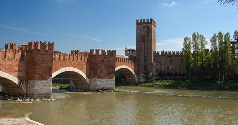 Ponte Scaligero - Verona (IT) [Fonte Foto: Wikipedia.it]