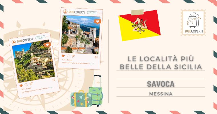 Le Località più belle della Sicilia: Savoca (ME)