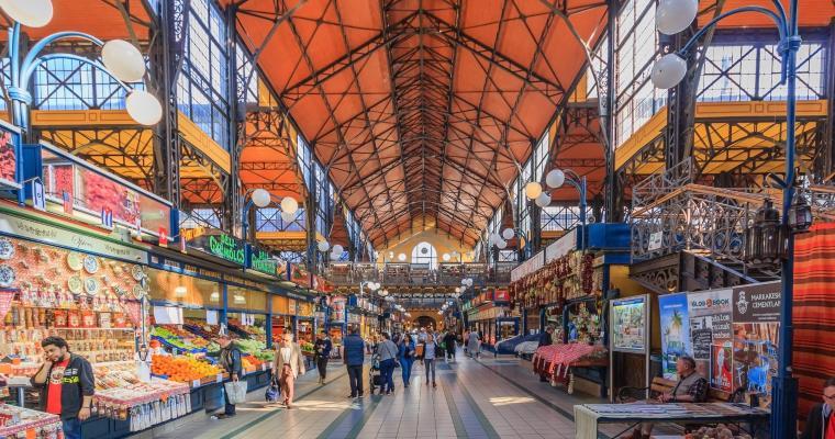 Mercato Centrale - Budapest (HU)