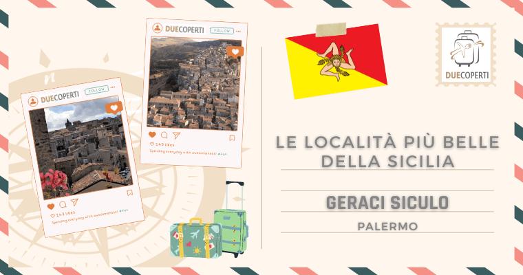 Le Località più belle della Sicilia: Geraci Siculo (PA)