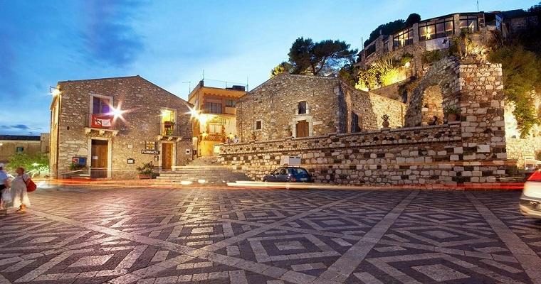 Piazza Sant'Antonio - Castelmola (ME) (IT)
